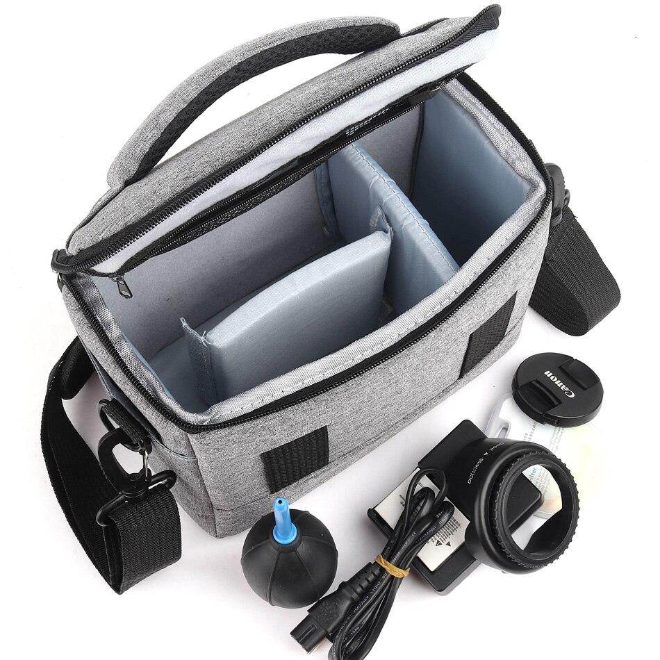 Fashion Polyester Shoulder Bag Camera Case For Canon Nikon Sony